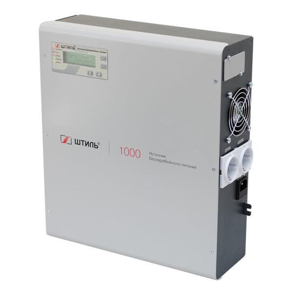 Штиль SW1000L источник бесперебойного питания (1000ВА/900Вт) настенный под внешние АБ