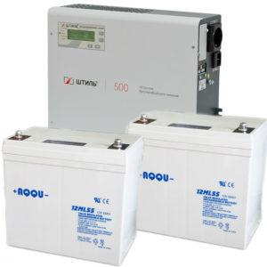 Готовые комплекты ИБП для газового котла (0,25 - 1кВА)