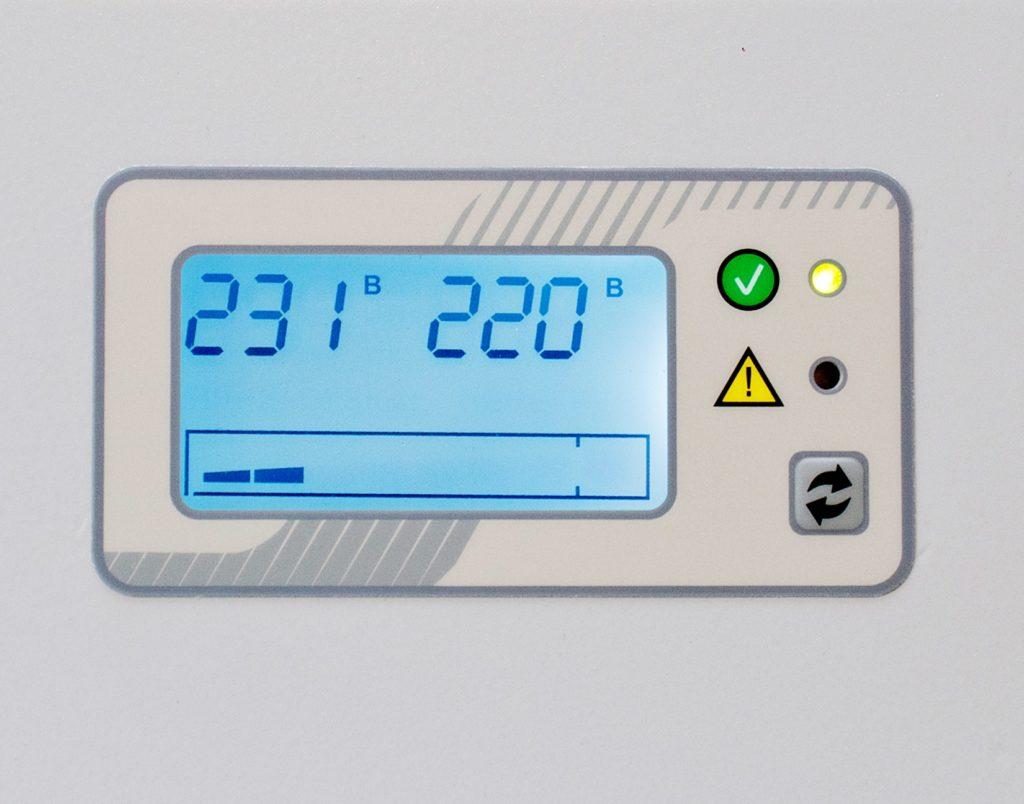 Инверторный стабилизатор напряжения Штиль ИнСтаб IS5000 (5кВА, 4,5кВт) настенный модель 2020 года