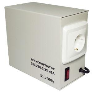 Развязывающие трансформаторы 230/230В