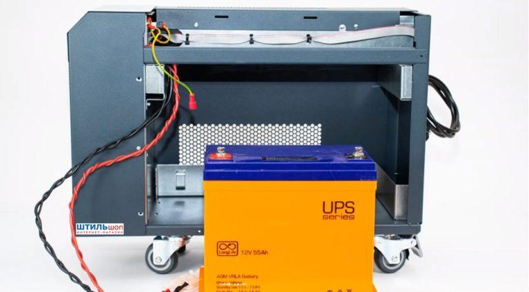 Как установить аккумулятор в ИБП Штиль ST250. Подробный фото отчет